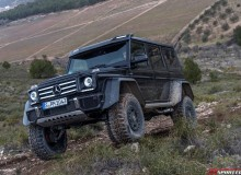 Mercedes-Benz G500 4×4 square