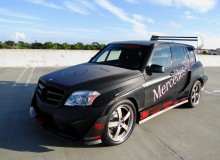 Mercedes-Benz GLK350 Hybrid Pikes Peak Rally Car Revamped , 2011