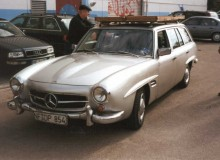 Mercedes-Benz W123 190 SLT