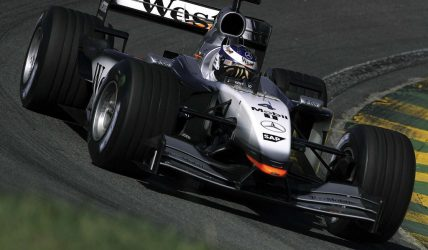2002 Mercedes-Benz McLaren MP4-17