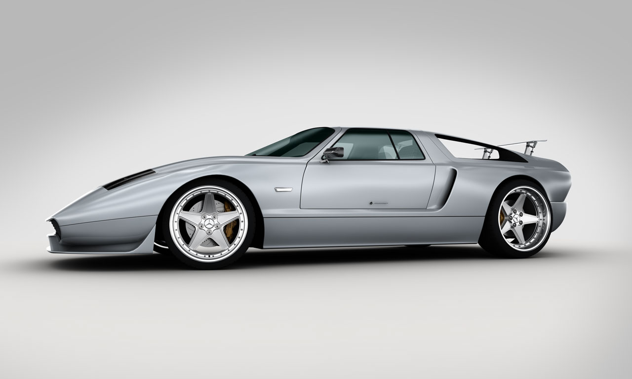 Experimental C111 Ciento Once Mercedes Benz