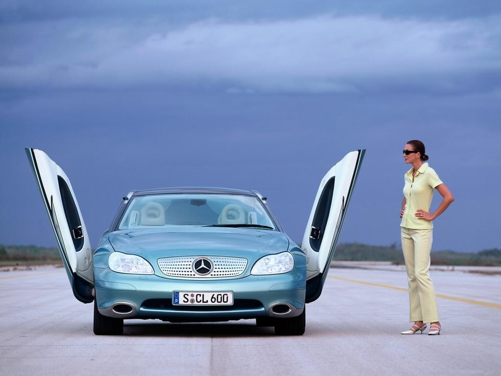 Mercedes Benz Push Car