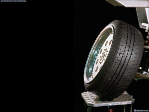 2001 Mercedes Benz F400 Carving wheel 2