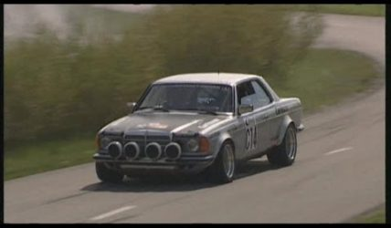 Mercedes-Benz w123 280CE Carlsson tuned rally car