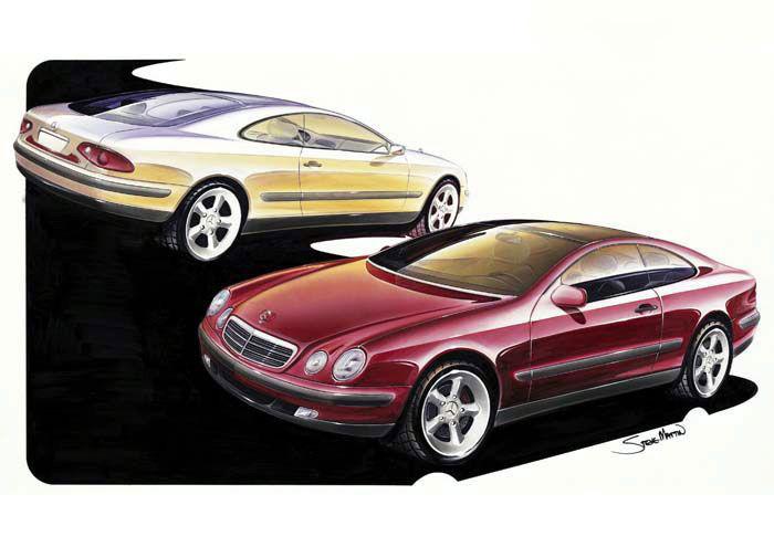 1993 mercedes benz coupe concept mercedes benz for Mercedes benz design your own
