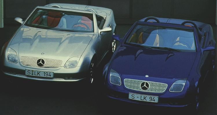 1994 Mercedes Benz Slk I Slk Ii Mercedes Benz