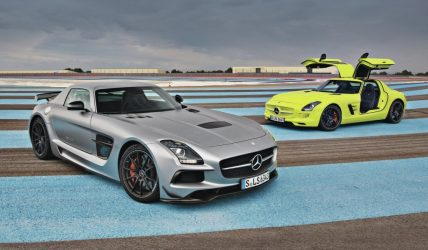 2014 mercedes benz SLS AMG black series SLS AMG electric drive