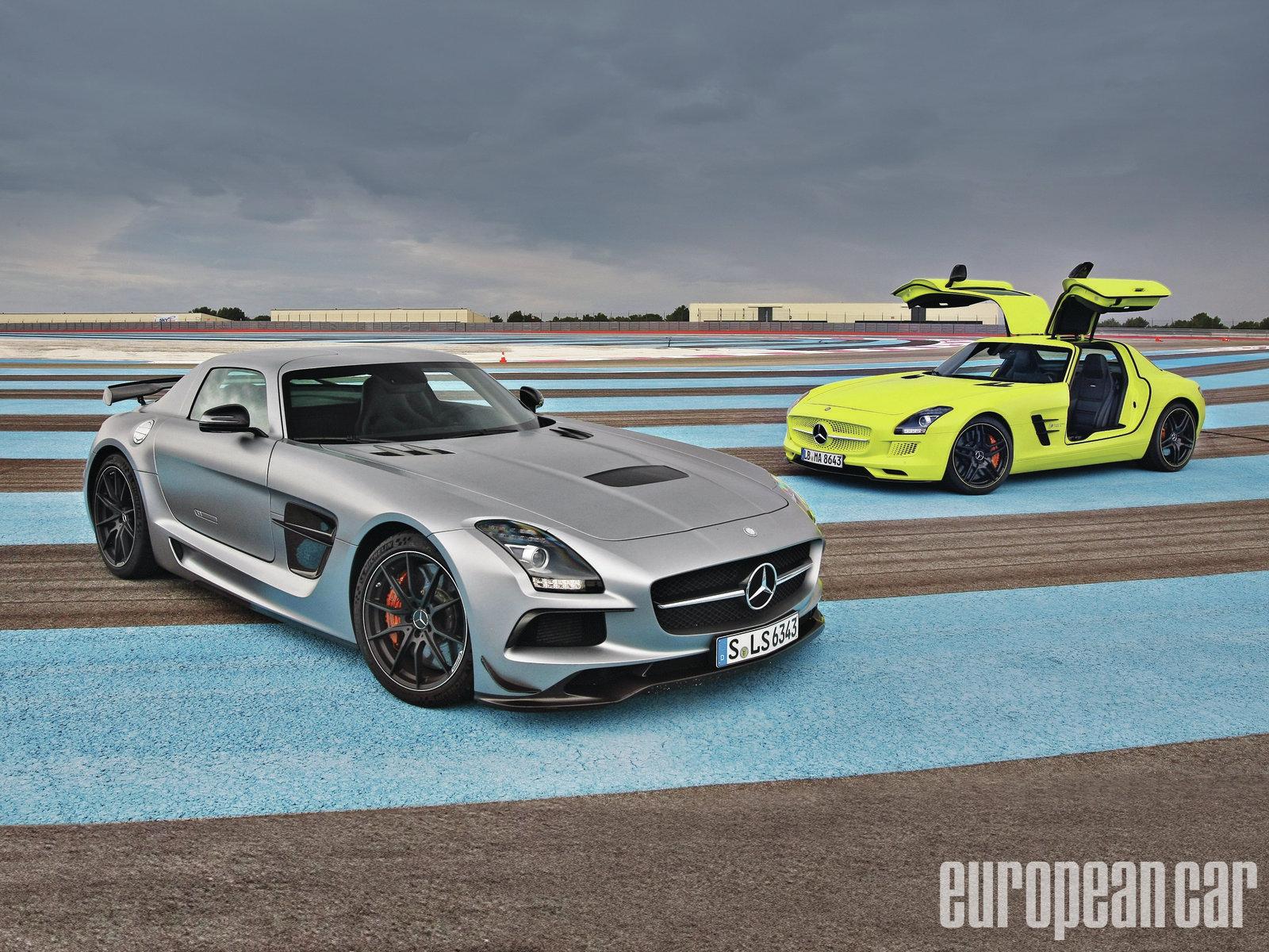 2017 Mercedes Benz Sls Amg Black Series Electric Drive