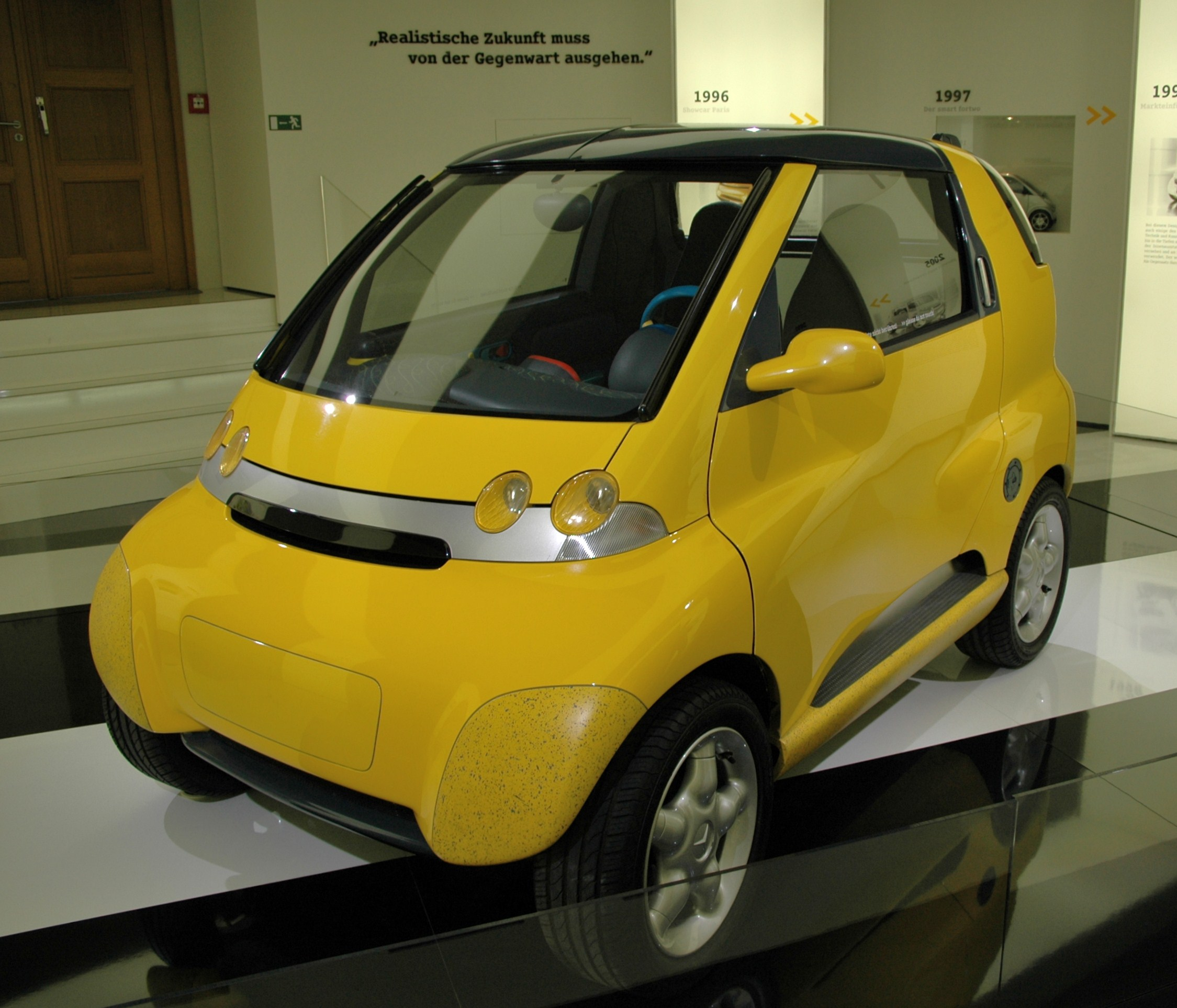 2014 Smart Fortwo Electric Drive Transmission: 1994 Mercedes-Benz MCC (Micro Compact Car)