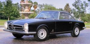 1964_Mercedes_230SL_Pininfarina_f3q