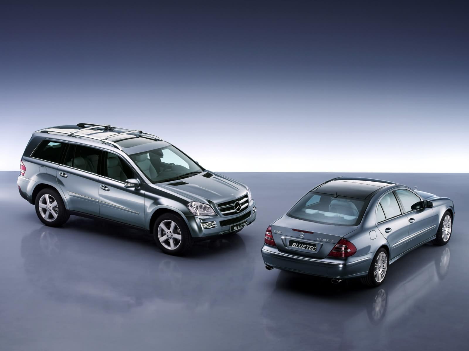 2006 mercedes benz e 320 bluetec and vision gl320 bluetec for Mercedes benz e350 diesel