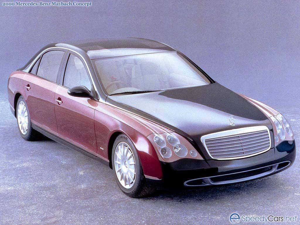 1997 Mercedes Benz Maybach Concept Mercedes Benz