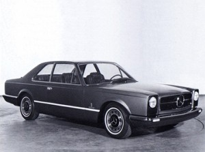Mercedes 300SEL 6.3 Coupe Pininfarina Prototype 1969-1