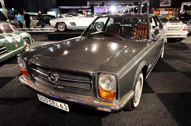 Interclassic & Topmobiel 2011 – 1969 Mercedes-Benz 300 SEL 6.3 Coupé Pininfarina