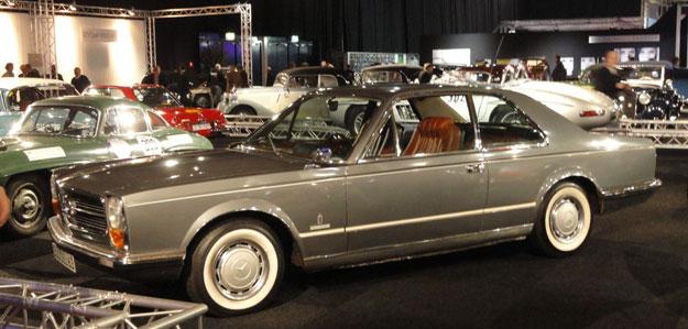 Mercedes 300SEL 6.3 Coupe Pininfarina Prototype 1969-5