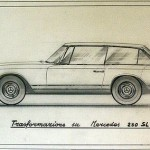 Mercedes-Benz 230 SLX Shooting brake dis 722