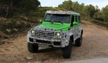 Mercedes-Benz-G63-AMG-Green-Monster-spy-photo-2