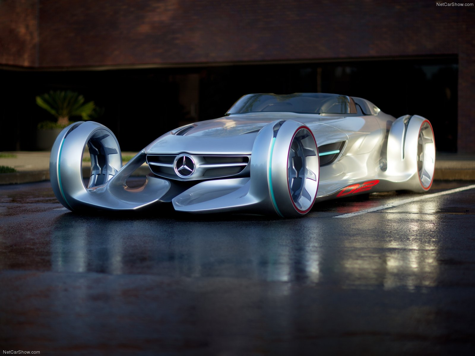 Mercedes Benz Silver Arrow Concept 2017 1600x1200 Wallpaper 01