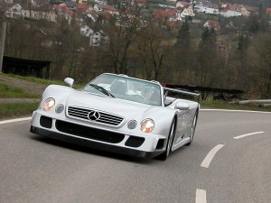 mercedes CLK GTR Roadster 2