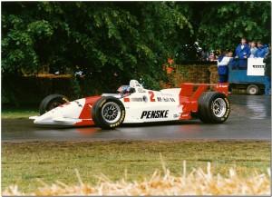 Emerson Fittipaldi 1996 Penske Mercedes PC25 Champcar. Goodwood Festival of Speed 1997