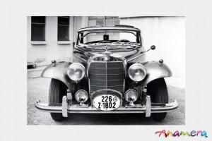 1955 Mercedes-Benz 300 S Cabriolet by Pininfarina 1