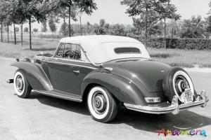 1955 Mercedes-Benz 300 S Cabriolet by Pininfarina 3