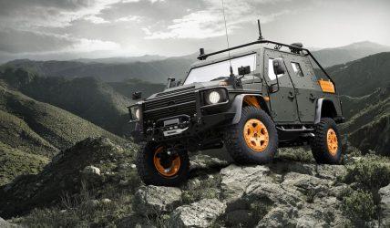 2010 Mercedes-Benz G-Wagon LAPV 6.x Concept 1