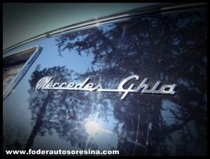 Mercedes-Benz 300c Berlina designed by Ghia 20