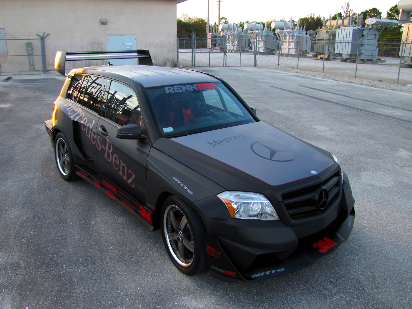 Mercedes Benz Glk350 Hybrid Pikes Peak Rally Car Renntech
