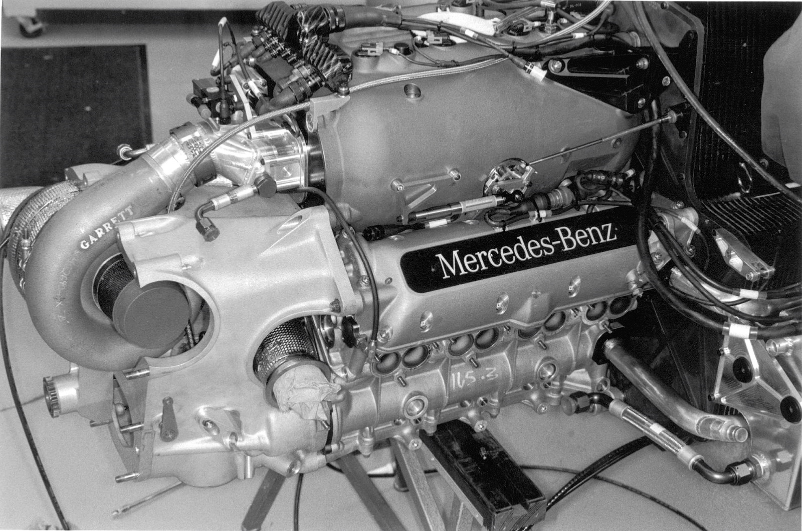 Mercedes-Benz Penske PC27 10 engine