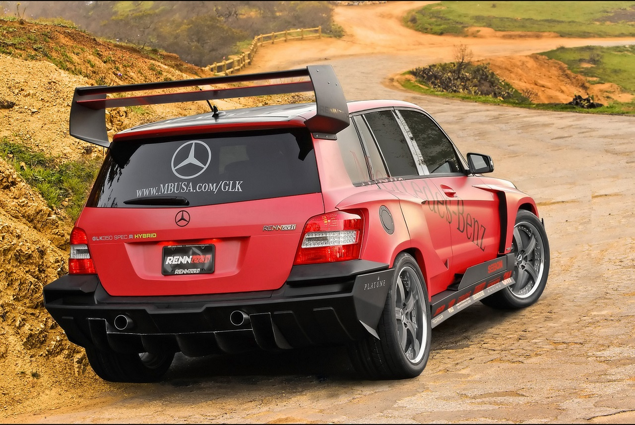 Mercedes benz glk renntech pikes peak racer mercedes benz for Rally mercedes benz
