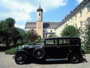 Mercedes-Benz W08 Nurburg 460 K Pullman Pope Mobile 3