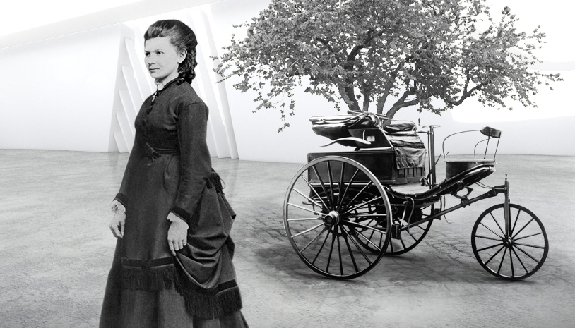 Bertha Benz and Benz Motorpatent