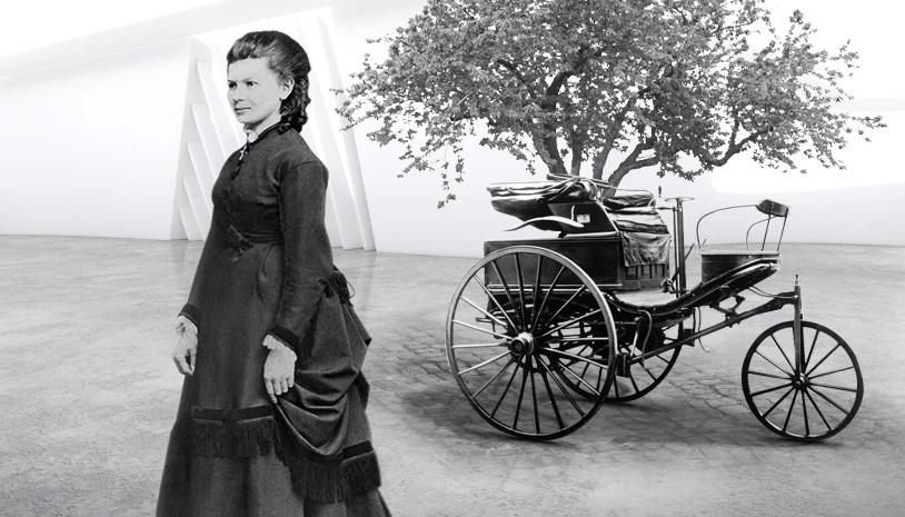 Bertha Benz and Benz Motorpatent